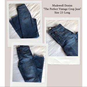 Madewell Denim - Perfect Summer Jean